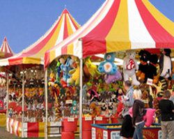 The Denbigh Show - lots of attractions for the family